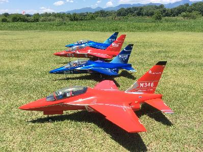 M-346 FreeWing 64mmツイン  Super Red Color